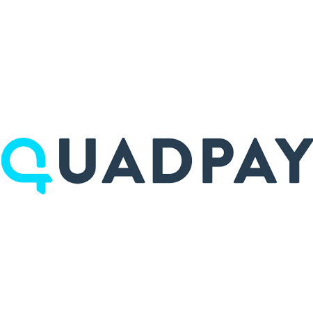 4 Interest-FREE payments on orders over $35 with QuadPay