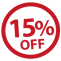15% off any Flowers purchase
