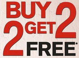 3rd and 4th guests sale FREE