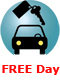 FREE Day on Weekend car rental