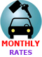 $75 off $600 purchase on MONTHLY car rentals