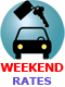 15% off car rentals - WEEKEND