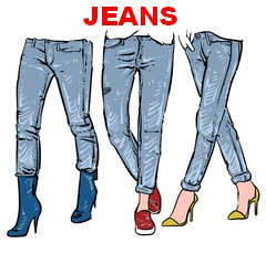 20% off womens JEANS