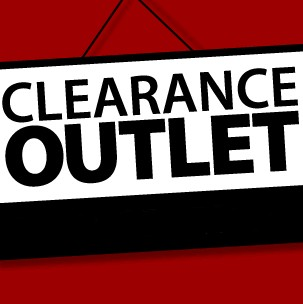 20-60% off select items - CLEARANCE