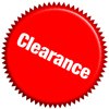 5-50% off select items - CLEARANCE