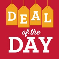25-50% off select items - DEAL of the DAY