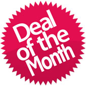 20-70% off selct items - DEALS of the MONTH