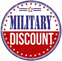 25% off any purchase - MILITARY Discount