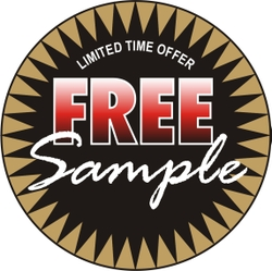 FREE Sample with any purchase