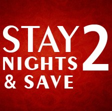 20% off 2+ nights hotel stay