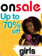 25-70% off select items - CLEARANCE - GIRLS