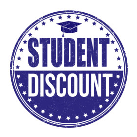 15% off any purchase - STUDENT DISCOUNT
