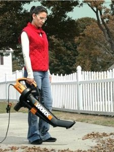 51% off WORX TriVac WG500 12 amp All-in-One Electric Blower/Mulcher/Vacuum