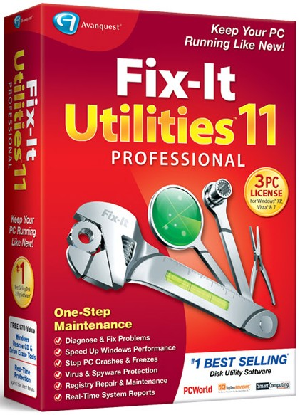 Avanquest fix it utilities professional v11 2 2 cracked msga