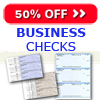 50% off Checks, Deposits or Check Envelopes - New customers