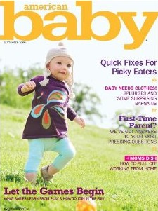 "FREE 1-year subscription to ""American Baby"" Magazine"