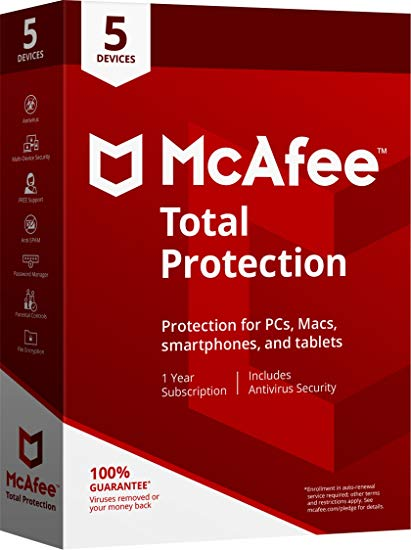 $55 off McAfee Total Protection