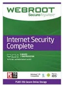 "$50 off Webroot ""SecureAnywhere Internet Security Complete"""